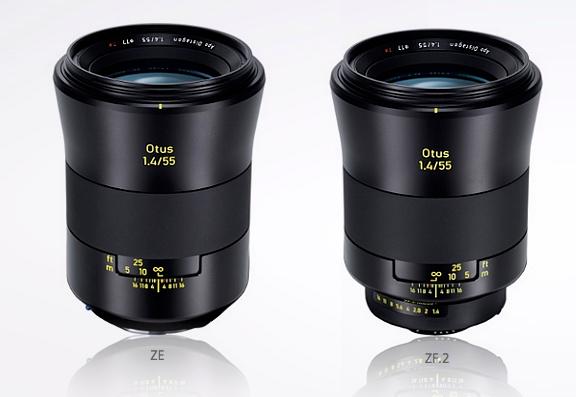 Zeiss 55mm F/1.4 Otus