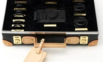 $9,000 Limited Edition Fujifilm X-Pro1 Kit Comes In a Vulcanized Fiberboard Suitcase