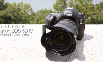 Hands-On Video: Canon EOS 5D Mark IV DSLR