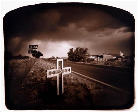 """Roadside-Altar-Camera-This-roadside-altar-was-cap"""