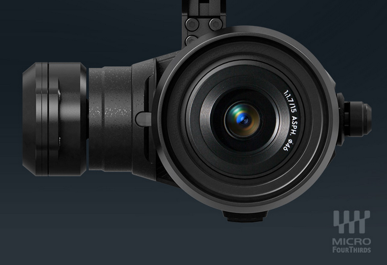 DJI Introduces The Zenmuse X5 Micro Four Thirds Drone Camera