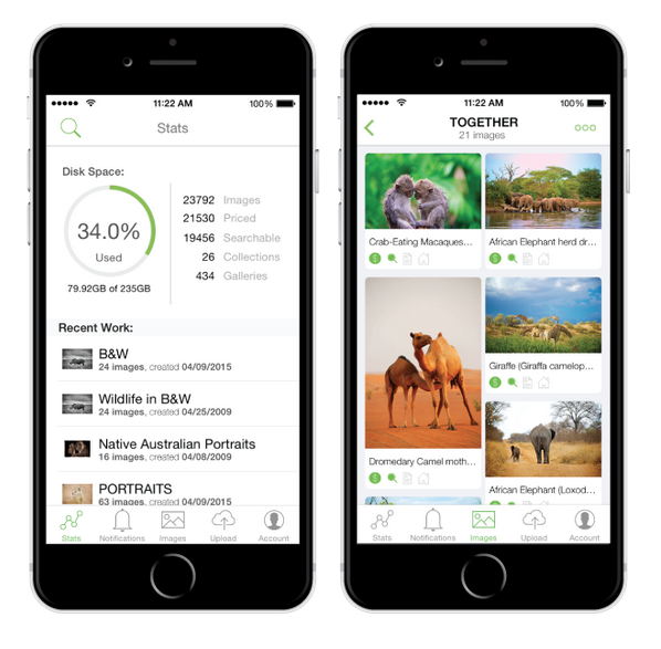 PhotoShelter Launches A New Mobile App
