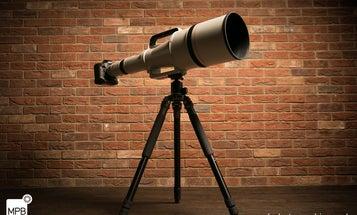Massive, Ultra-Rare Canon EF 1200mm f/5.6 L USM Lens Up For Sale