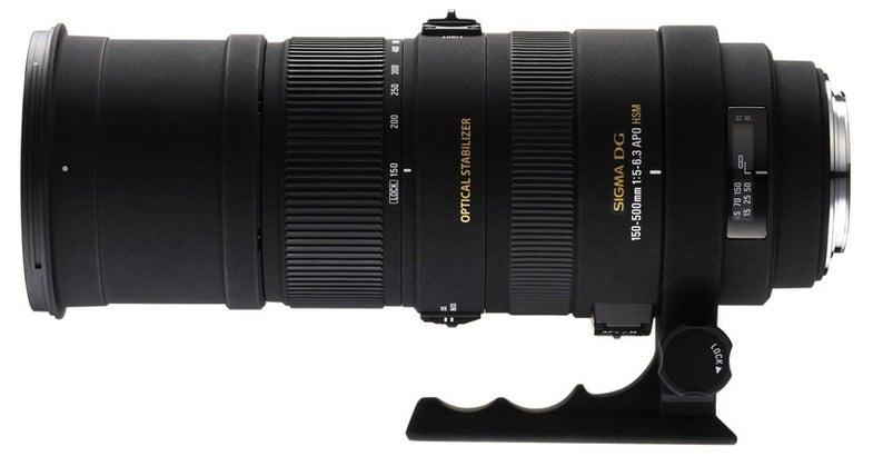 Sigma 150–500mm f/5–6.3 APO DG OS HSM