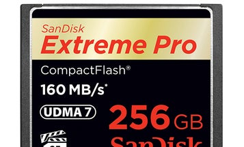 New Gear: SanDisk Announces High-Speed, High-Capacity 256GB SanDisk Extreme Pro CompactFlash Card