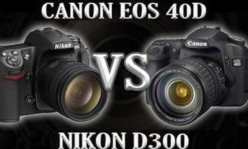 Nikon D300 vs Canon EOS 40D: A Hands-On Workout