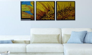 ColorWorks Will Turn Your Photos Into Mosaics Made Of Actual Crayons