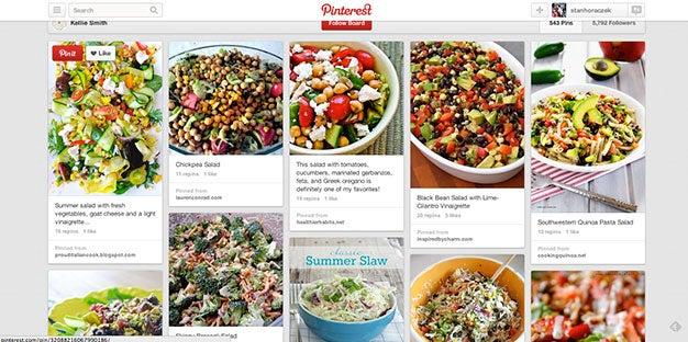 Pinterest Salads