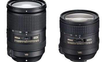 New Gear: Nikon DX 18-300mm f/3.5-5.6G ED VR and Nikon 24-85mm f/3.5-4.5G ED VR Zoom Lenses