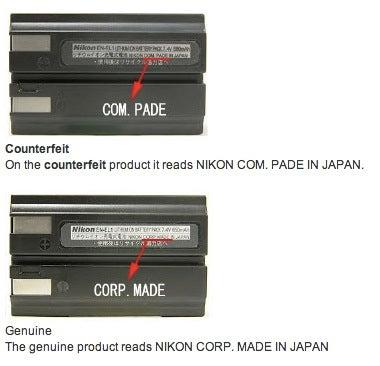 counterfeit nikon