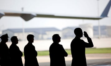 Photo Of Military Memorial Service Stirs Controversy