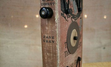 One of a Kind Pinhole Camera Made From an Old Book