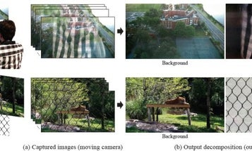 Google and MIT Researchers Can Now Remove Reflections From Photos Taken Through Windows