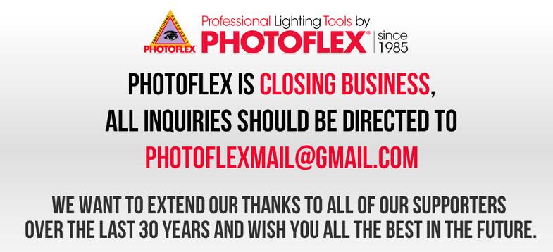 Photoflex Closes Down