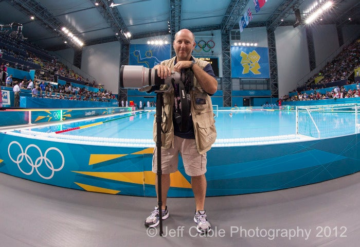 Jeff Cable Olympic Photographer