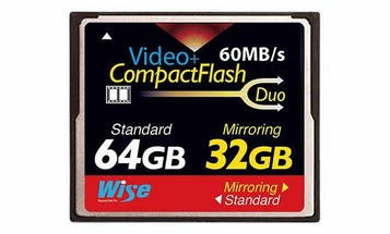 Japanese Compact Flash Card Protects Data With Built-In RAID