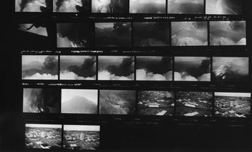 Late Photographer's Lost Images of Mt. St. Helens Discovered
