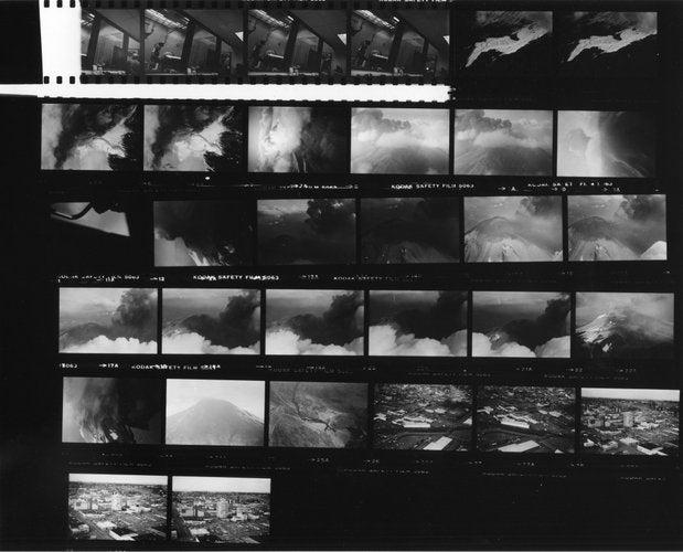 Reid Blackburn's Lost Photos of Mt. St. Helens