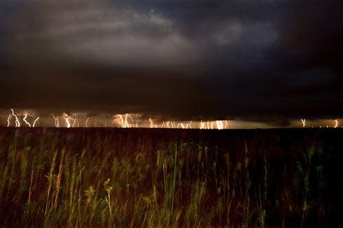 """""""Landscapes-After-Dark-Lightning-in-the-distance"""""""