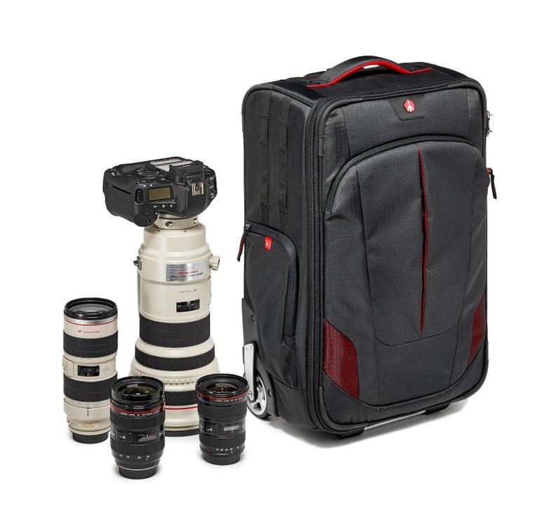 Manfrotto Pro Light Reloader-55 rolling camera bag