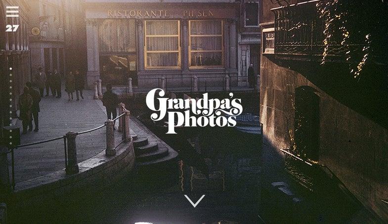 grandpa's photos