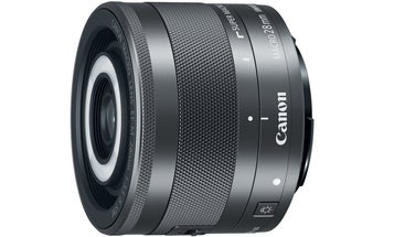 New Gear: Canon EF-M 28mm f/3.5 IS Macro Lens With Built-In Macro Ring Light
