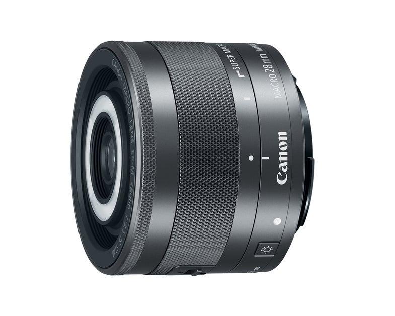 Canon 28mm f/3.5 IS Macro Lens