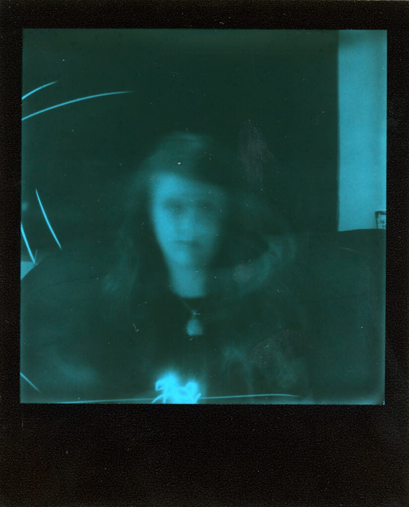 Polaroid Onestep+ sample negative girl