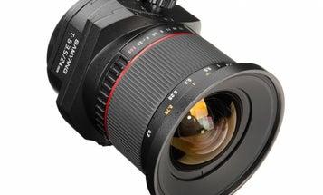 You Can Pre-Order The Samyang (Rokinon) T-S 24mm F/3.5 Tilt-Shift Lens For $999