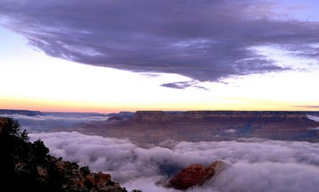 See Incredible Photographs of the Grand Canyon Flooded with Clouds