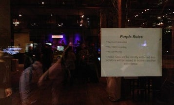 """Prince's """"Purple Rules"""" Ban Photos From Performances"""