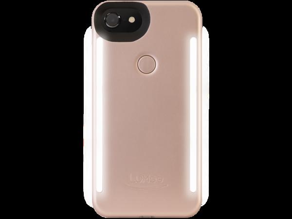 Lumee smartphone case for selfies