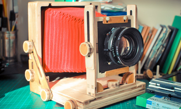 Kickstarter: The Intrepid Camera Is A Cheap, Collapsible Way Into Large Format Photography