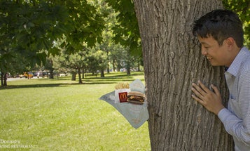 Writer Upset With McDonald's For Stealing His Idea of Engagement Photos With a Burrito