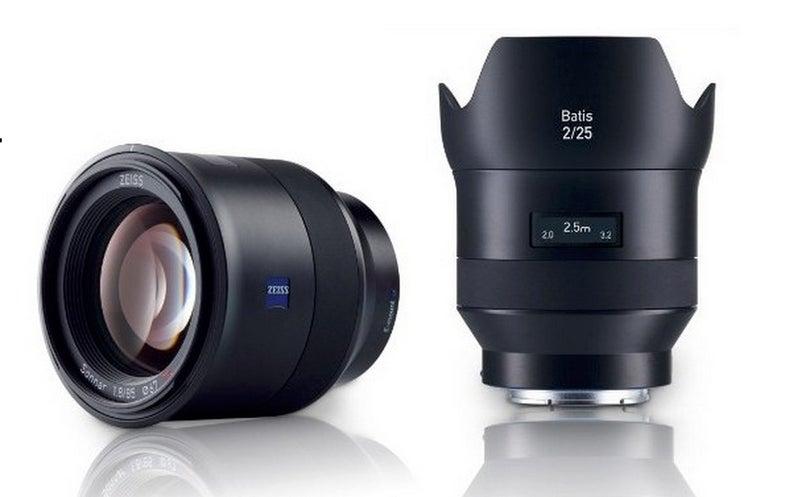 New Gear: Zeiss Batis 25mm F/2 and 85mm F/1.8 Lenses For Sony Full-Frame Cameras