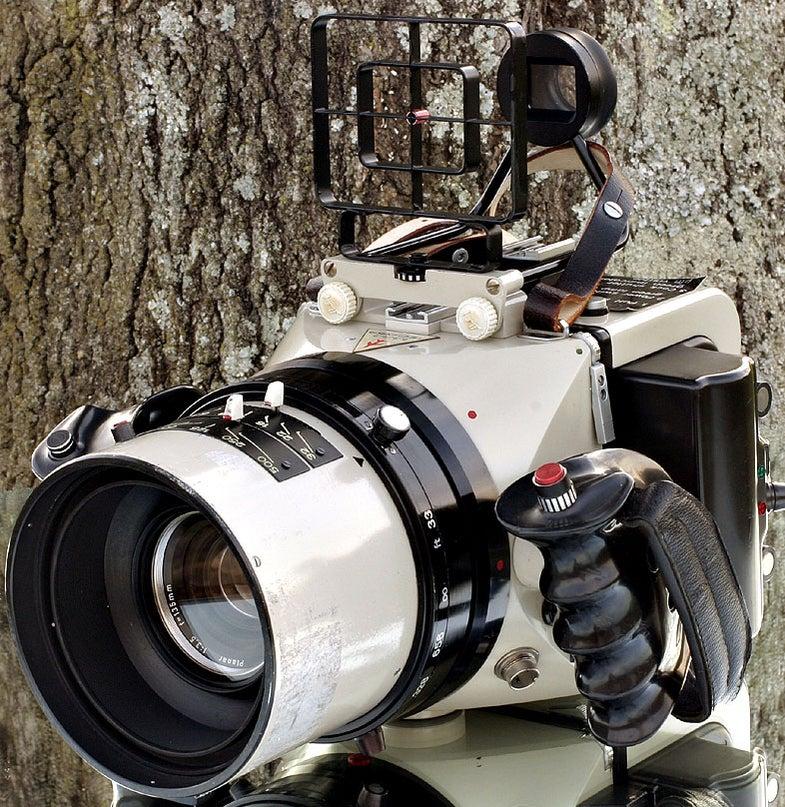Linhof Aerial Technika Aero 45 Camera with 135mm Lens: Buy it Now $7,989 or Best Offer