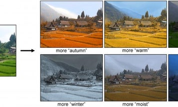 Photo Algorithm Would Let You Change Your Images By Season