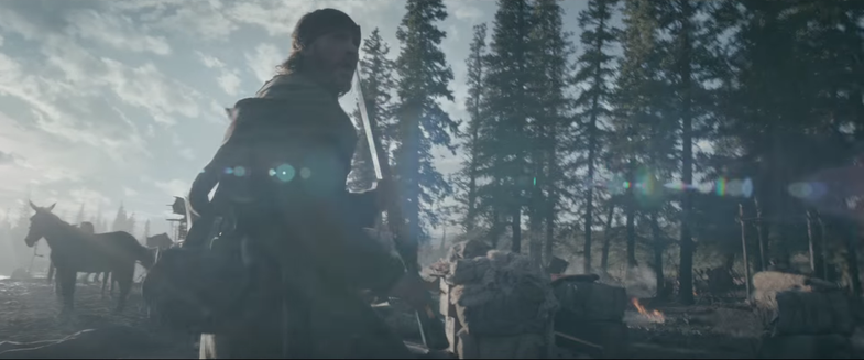 The Revenant shot entirely with natural light