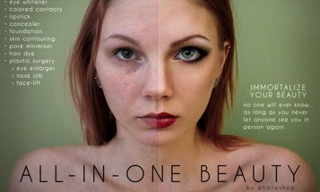 Art Student Anna Hill Parodies Overly Maniuplated Ads in Photo Series