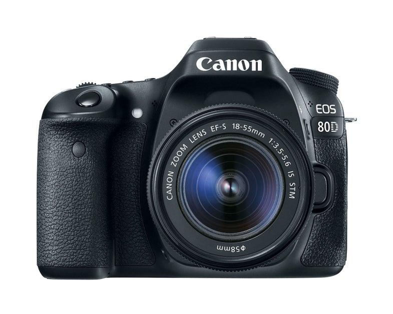 Canon 80D DSLR With Dual Pixel AF