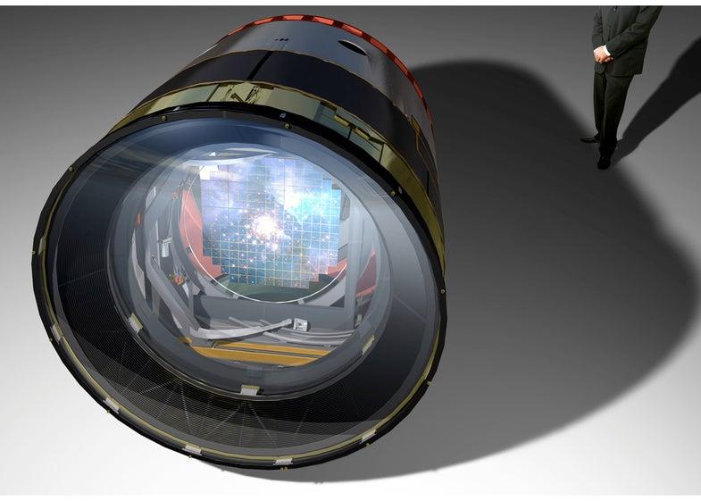 3.2 gigapixel Telescope