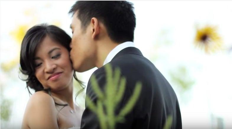 Posing tips for wedding portraits