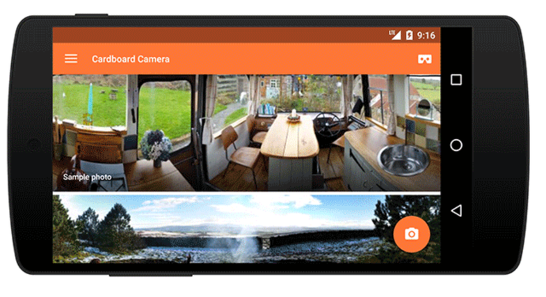 Google Cardboard Camera App for Android