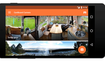 """Google Releases Cardboard Camera App For Capturing """"Virtual Reality"""" Images"""