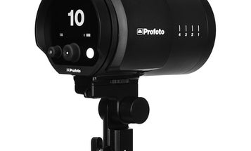 The Profoto 250W B10 is a compact studio flash you control via app