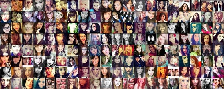 Neural Network evaluates selfie photos