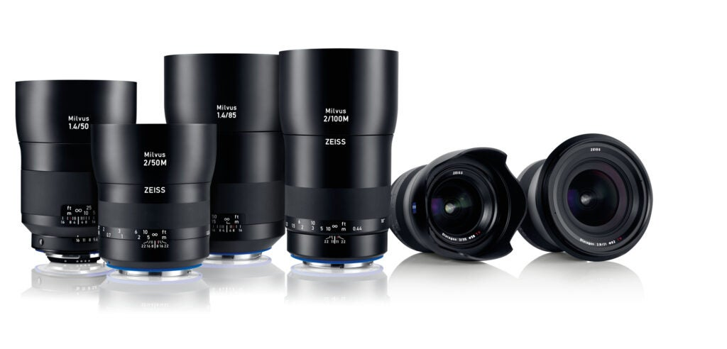 Zeiss Milvus Prime Lenses