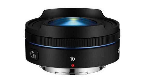 Samsung 10mm fisheye lens