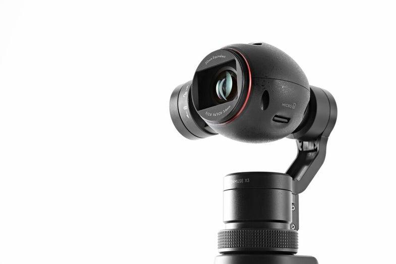 DJI Osmo Stabilized 4k Video Camera