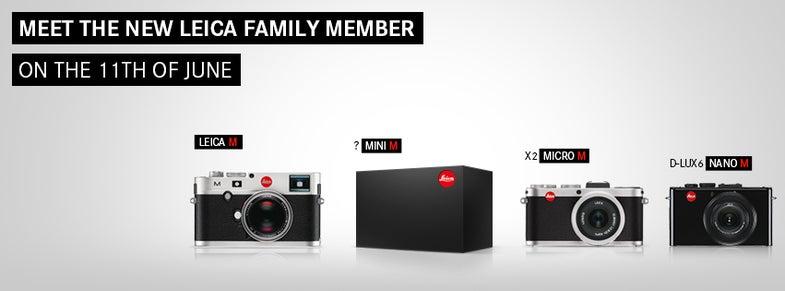 Leica M Mini Tease